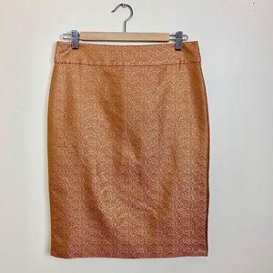 NWOT JCrew Silk Skirt